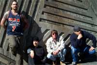 Chris Melita, Patrick Janidlo, Patrick Keenan and Chad Quackenbush of the band lack.of.function